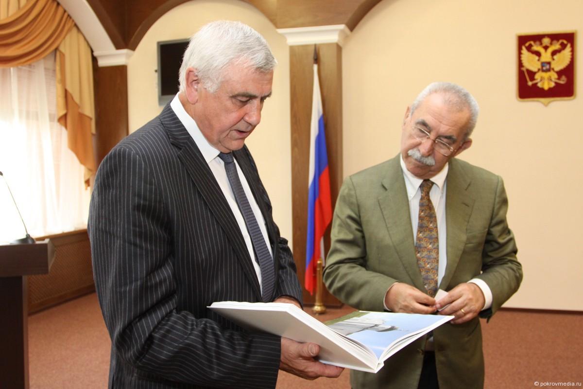 Губернатор Николай Виноградов и депутат европейского парламента Джульетто Кьеза