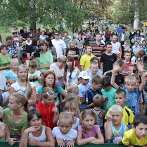 "Компания ""КРАФТ ФУДС РУС"" подарила жителям Покрова спортивную площадку"