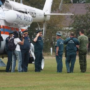 Министр по чрезвычайным ситуациям РФ В.Пучков посетил Петушинский район Владимирской области