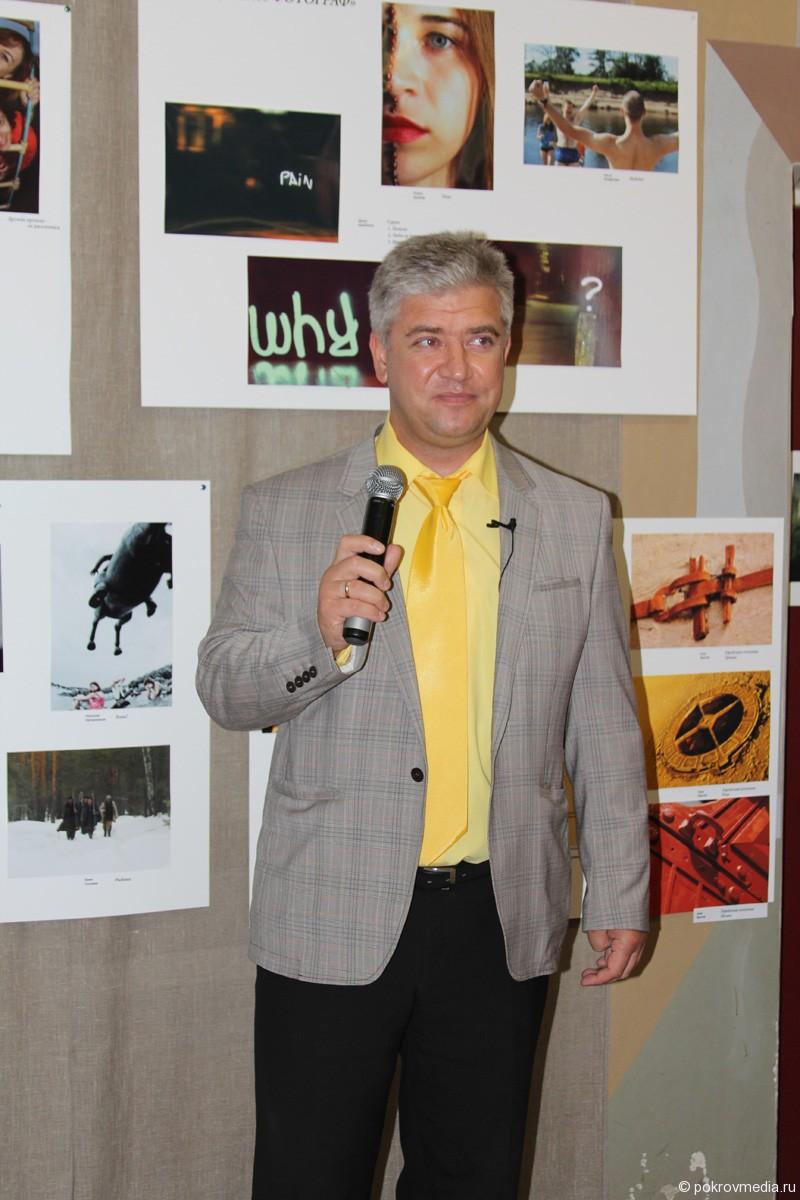 Слова приветствия в адрес участников фестиваля от главы города Покров Е.П.Сас