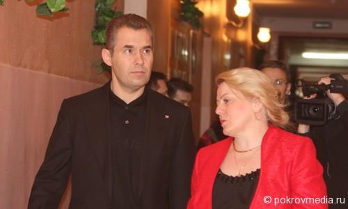 Павел Астахов и Светлана Рогова