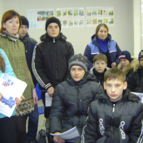 """Экскурсия нашего класса на """"Промэнерго"""""""