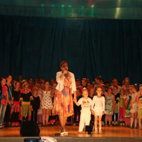 """В городе прошел отчетный концерт театра танца """"Вдохновение""""."""