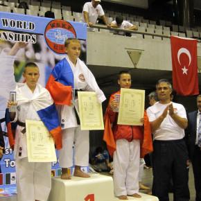 Саша Дорофеев – серебряный призёр чемпионата мира