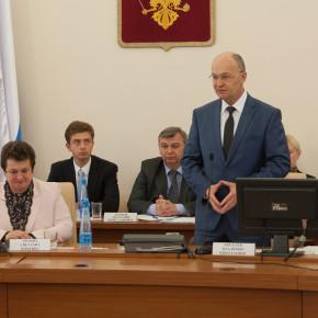 Первое ЗС: Владимир Киселёв вновь избран председателем