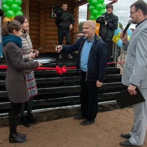 В поселке Сосновый Бор открыт первый домик реабилитационного центра для детей, перенесших онкологические заболевания