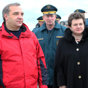 Глава МЧС России В.Пучков проверил готовность Владимирской Области к предупреждению и ликвидации чрезвычайных ситуаций