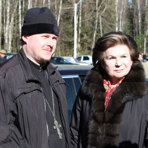 27 марта 2014 года Валентина Владимировна Терешкова принимала участие в митинге памяти Ю. Гагарина...
