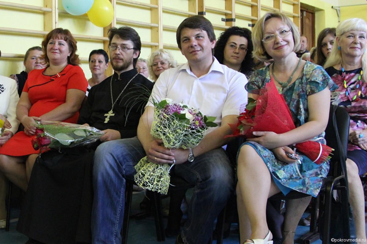Гости праздничного мероприятия средней школы №2