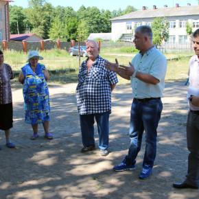 Встреча с жителями Введенского