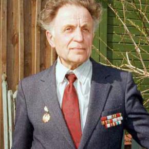Фронтовой связист Николай Рябкин