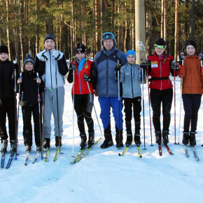 Лыжная секция Александра Захарова