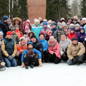 В районе прошёл 36-ой лыжный пробег