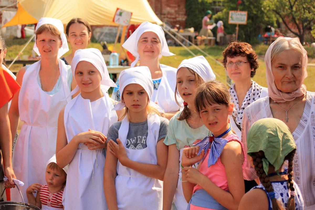 Праздник Город мастеров в Свято-Воскресенском приходе Петушинского благочиния