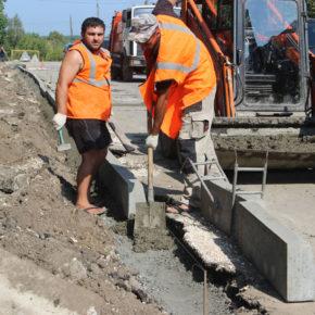 Продолжается ремонт городских дорог