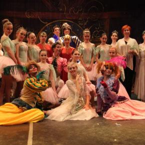 Балетное представление в Покрове