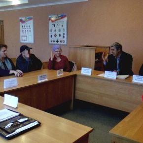 Первое заседание нового Общественного совета ОМВД