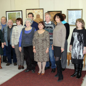 Выставка художников г. Александрова