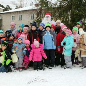Подарки для детей посёлка Введенский