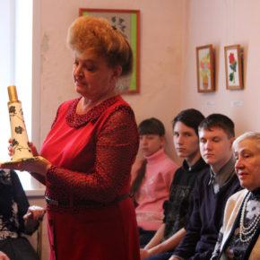 Открытие персональной выставки «Рождение красоты»