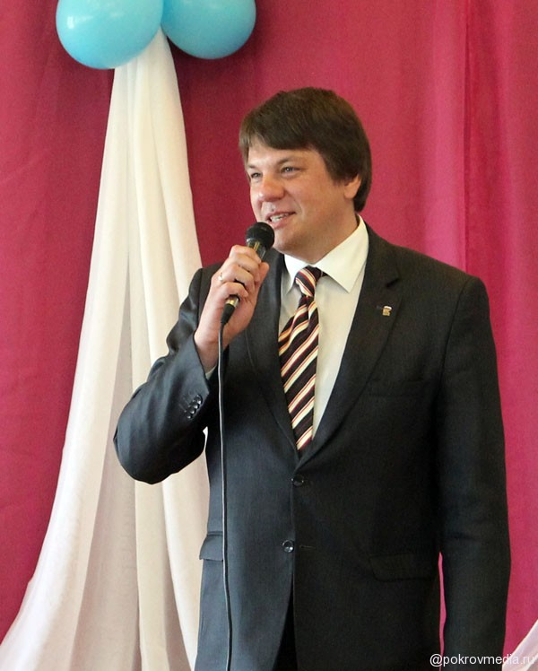 Поздравление от Главы г.Покров О. Г. Кислякова.