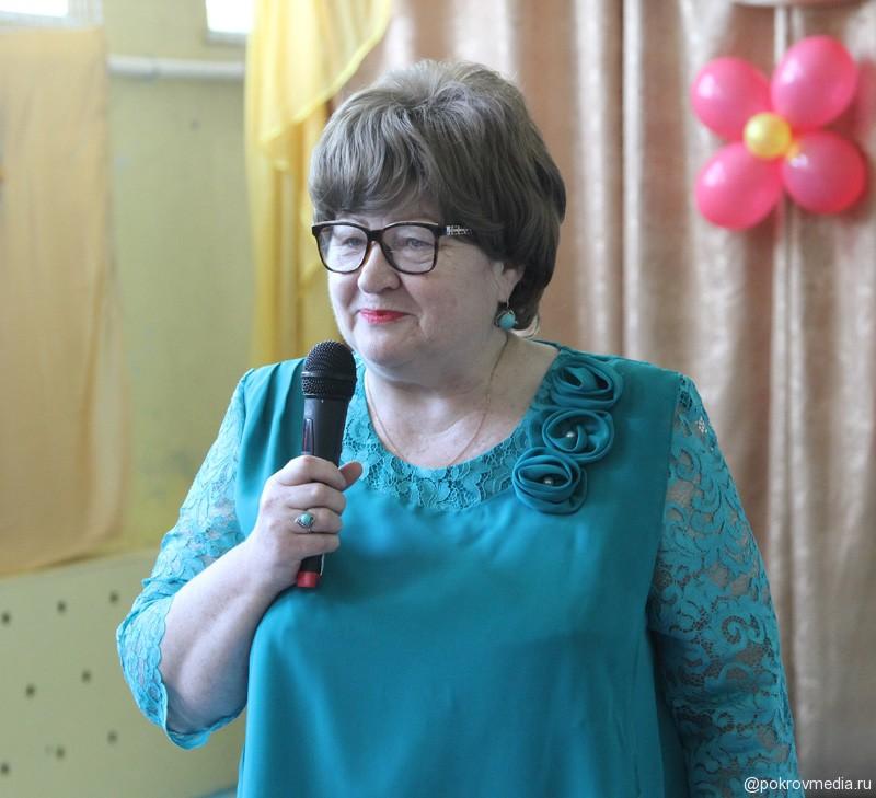 Поздравление от директора ПСШ № 2 Е. А. Титовой.
