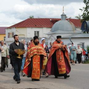 Крестное шествие в Царскую часовню