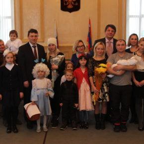 Новорождённым гражданам г. Покров дали имена