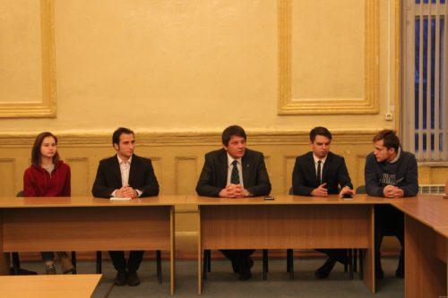 Заседание молодёжного парламента