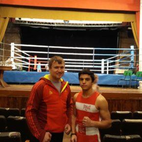 Соревнования юных боксёров