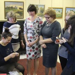 Выставка в картинной галерее