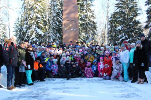 Лыжный пробег к мемориалу гибели