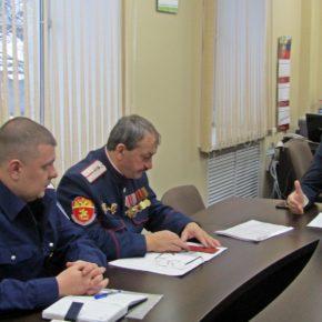 В Петушинском районе начал действовать  казачий отряд быстрого реагирования