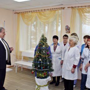 У больнице города костерёво отремонтировано терапевтическое отделение