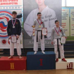 Областные соревнования по карате