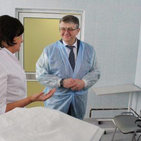 Заместитель министра здравоохранения РФ Сергей Краевой высоко оценил работу учреждений здравоохранения Владимирской области